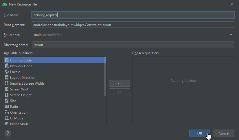 membuat constraint layout