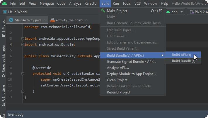 build bundle(s)/APK(s)
