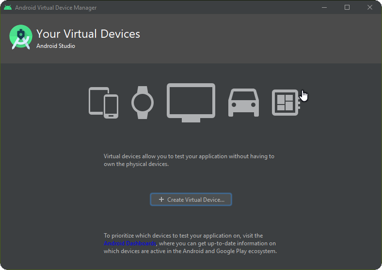 your virtual devices